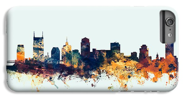 Nashville Tennessee Skyline IPhone 6 Plus Case by Michael Tompsett