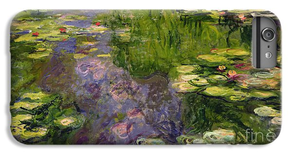 Lily iPhone 6 Plus Case - Waterlilies by Claude Monet