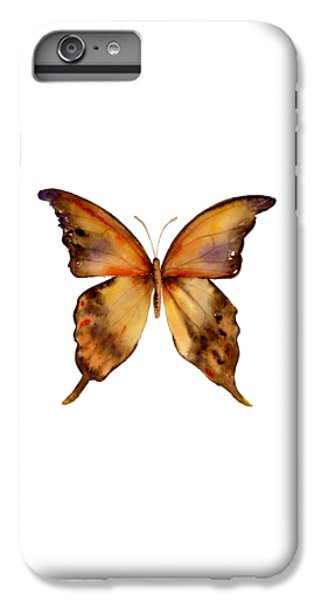 7 Yellow Gorgon Butterfly IPhone 6 Plus Case