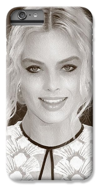 Actress Margot Robbie IPhone 6 Plus Case