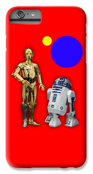 Star Wars C3po And R2d2 Collection IPhone 6 Plus Case by Marvin Blaine