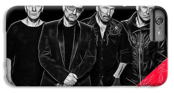 U2 Collection IPhone 6 Plus Case by Marvin Blaine