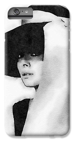 Audrey Hepburn IPhone 6 Plus Case by John Springfield