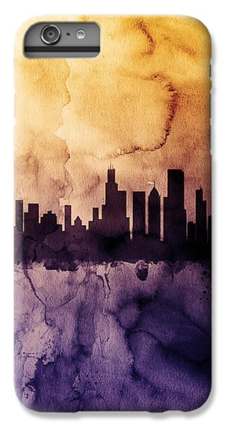 Chicago Illinois Skyline IPhone 6 Plus Case by Michael Tompsett