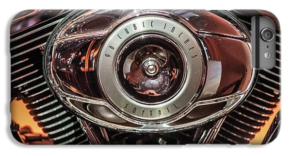 IPhone 6 Plus Case featuring the photograph 96 Cubic Inches Softail by Randy Scherkenbach