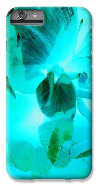 iPhone 6 Plus Case - A Bloom In Turquoise by Orphelia Aristal