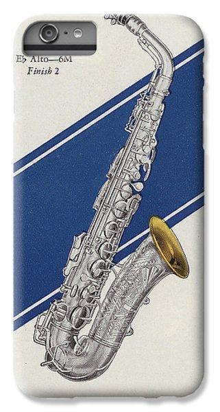 A Charles Gerard Conn Eb Alto Saxophone IPhone 6 Plus Case
