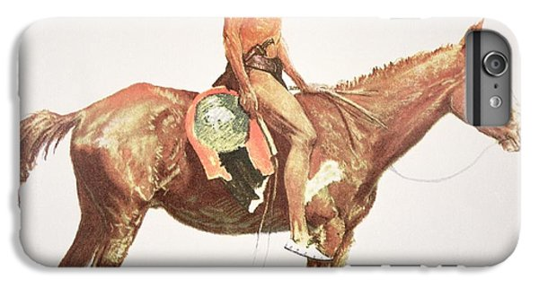Horse iPhone 6 Plus Case - A Cheyenne Brave by Frederic Remington