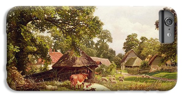 A Cottage Home In Surrey IPhone 6 Plus Case by Edward Henry Holder