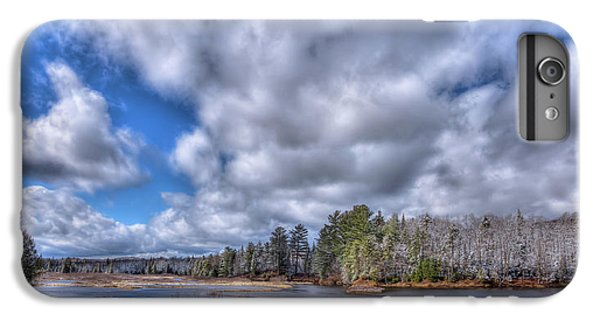 IPhone 6 Plus Case featuring the photograph A Dusting Of Snow by David Patterson