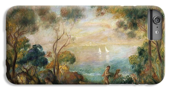 A Garden In Sorrento IPhone 6 Plus Case by Pierre Auguste Renoir