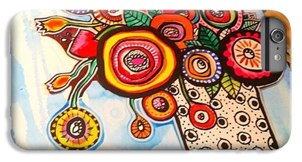 iPhone 6 Plus Case - A Little #collage Experiment Im by Robin Mead