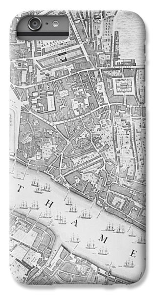 A Map Of The Tower Of London IPhone 6 Plus Case