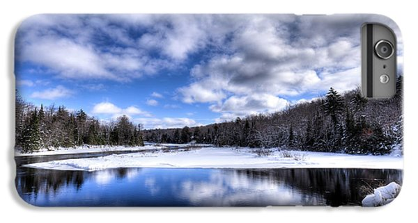 IPhone 6 Plus Case featuring the photograph A Moose River Snowscape by David Patterson