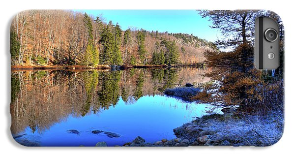 IPhone 6 Plus Case featuring the photograph A November Morning On The Pond by David Patterson