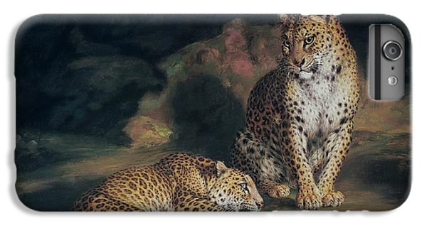 A Pair Of Leopards IPhone 6 Plus Case by William Huggins