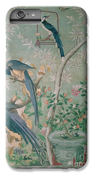 A Pair Of Magpie Jays  Vintage Wallpaper IPhone 6 Plus Case