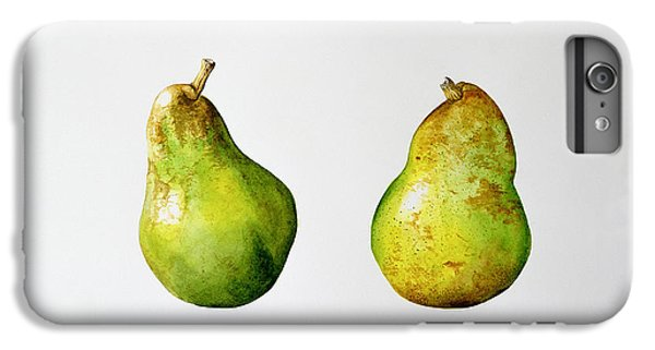 Fruit iPhone 6 Plus Case - A Pair Of Pears by Alison Cooper