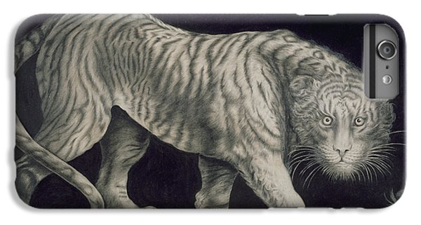 A Prowling Tiger IPhone 6 Plus Case by Elizabeth Pringle