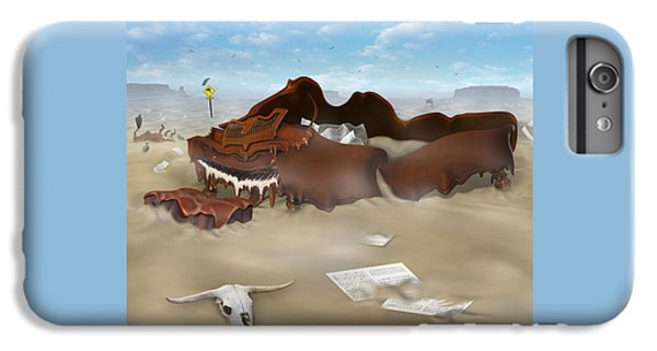 A Slow Death In Piano Valley Sq IPhone 6 Plus Case by Mike McGlothlen