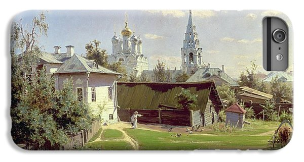 Moscow iPhone 6 Plus Case - A Small Yard In Moscow by Vasilij Dmitrievich Polenov