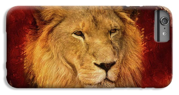 Lion Head iPhone 6 Plus Case - A Tribute To Asante by Teresa Wilson