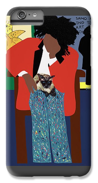 iPhone 6 Plus Case - A Tribute To Jean-michel Basquiat by Synthia SAINT JAMES