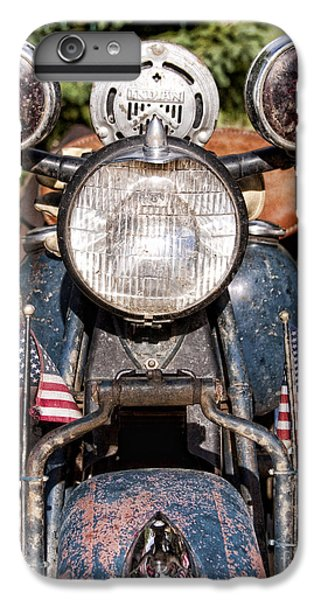 A Very Old Indian Harley-davidson IPhone 6 Plus Case by James BO  Insogna