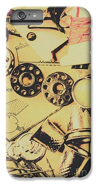 brand new 26bf3 93e5c Cross Stitch iPhone 6 Plus Cases | Fine Art America