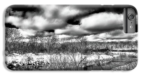 IPhone 6 Plus Case featuring the photograph A Winter Panorama by David Patterson