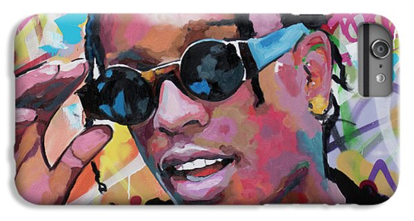 Harlem iPhone 6 Plus Case - A$ap Rocky by Richard Day