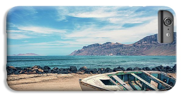 Canary iPhone 6 Plus Case - Abandoned Boat by Delphimages Photo Creations