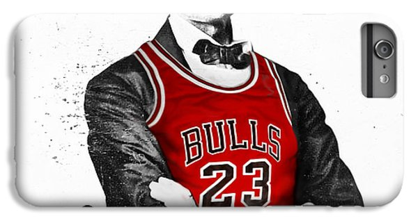 Abe Lincoln In A Bulls Jersey IPhone 6 Plus Case by Roly Orihuela
