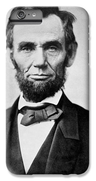 Abraham Lincoln -  Portrait IPhone 6 Plus Case by International  Images