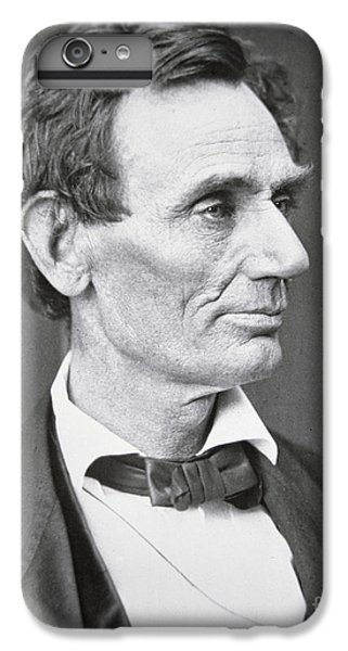 Portraits iPhone 6 Plus Case - Abraham Lincoln by Alexander Hesler