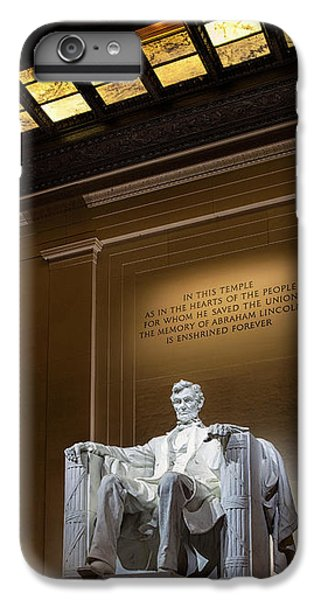 Abraham Lincoln IPhone 6 Plus Case by Andrew Soundarajan