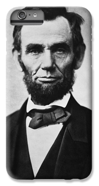 Abraham Lincoln IPhone 6 Plus Case by War Is Hell Store