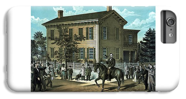 Abraham Lincoln's Return Home IPhone 6 Plus Case by War Is Hell Store