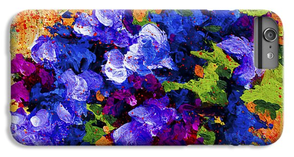 Daisy iPhone 6 Plus Case - Abstract Boquet 3 by Marion Rose