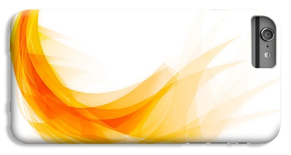 Abstract Feather IPhone 6 Plus Case