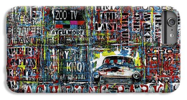 U2 iPhone 6 Plus Case - Achtung Baby by Frank Van Meurs
