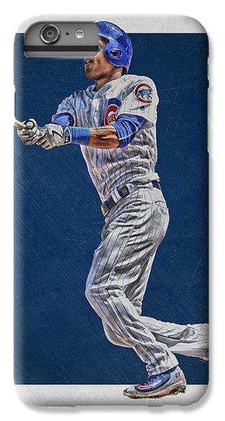 Addison Russell Chicago Cubs Art IPhone 6 Plus Case by Joe Hamilton