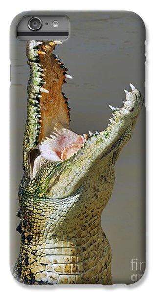 Crocodile iPhone 6 Plus Case - Adelaide River Crocodile by Bill  Robinson