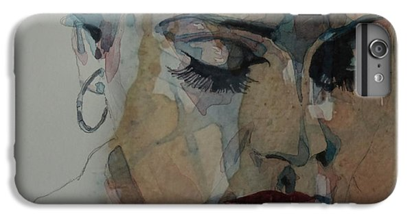 Adele - Make You Feel My Love  IPhone 6 Plus Case by Paul Lovering