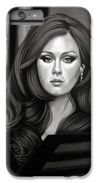 Adele Mixed Media IPhone 6 Plus Case