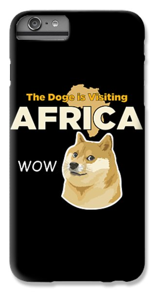 Africa Doge IPhone 6 Plus Case by Michael Jordan