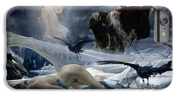 Ahasuerus At The End Of The World IPhone 6 Plus Case by Adolph Hiremy Hirschl