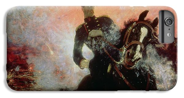 Albert I King Of The Belgians In The First World War IPhone 6 Plus Case by Ilya Efimovich Repin