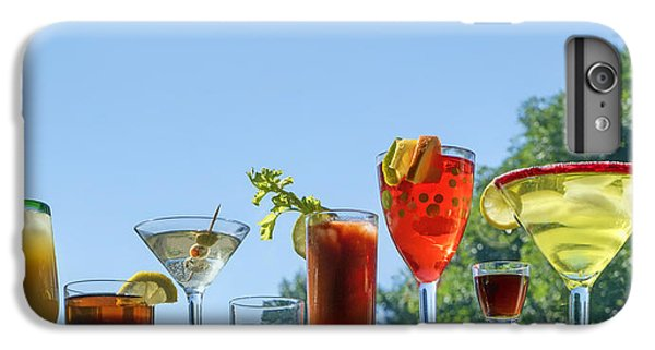 Bloody Mary iPhone 6 Plus Case - Alcoholic Beverages - Outdoor Bar by Nikolyn McDonald