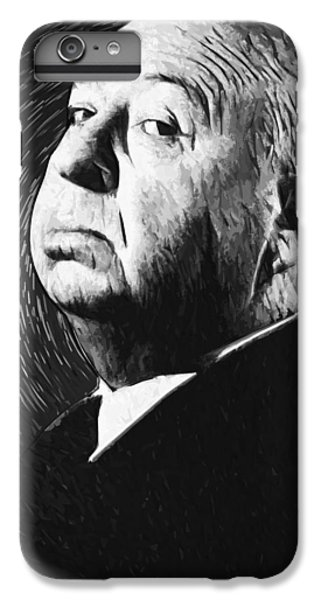 Alfred Hitchcock IPhone 6 Plus Case by Taylan Apukovska